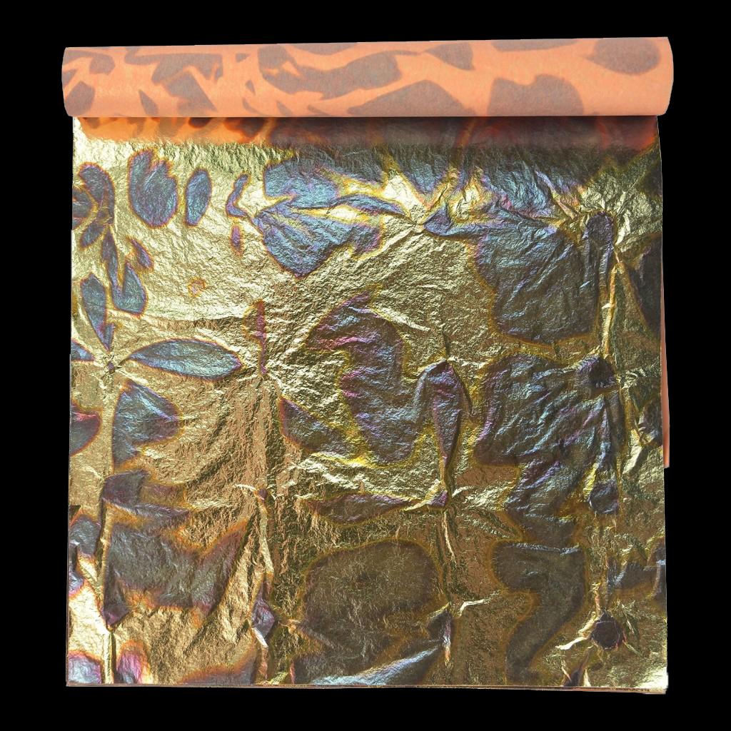 Variegated Gold Leaf Booklet 14cm 51 2 Quot Colour Blue 500